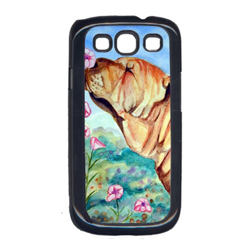 Carolines Treasures 7105GALAXYSIII Shar Pei Smell The Flowers Cell Phone Cover Galaxy S111