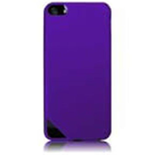 Accellorize Fitted Hard Shell Case for iPhone 4 - Purple