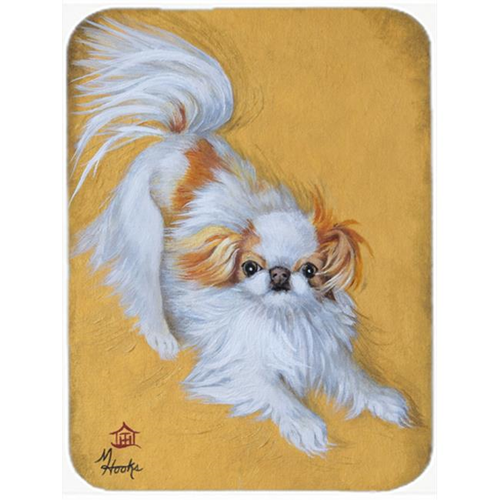 Carolines Treasures MH1033MP Japanese Chin Red White Play Mouse Pad Hot Pad & Trivet