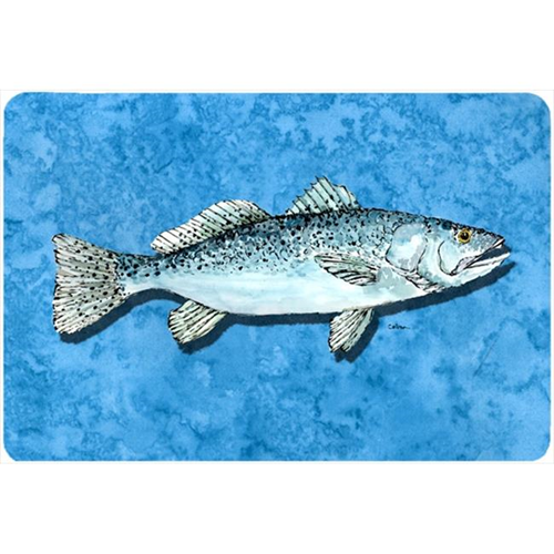Carolines Treasures 8770MP 9.25 x 7.75 in. Fish - Trout Mouse Pad Hot Pad Or Trivet