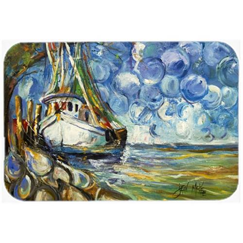 Carolines Treasures JMK1080MP Shrimp Boat 101 Mouse Pad Hot Pad & Trivet