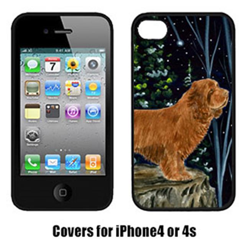 Carolines Treasures SS8174IP4 Sussex Spaniel Cell Phone Cover Iphone4