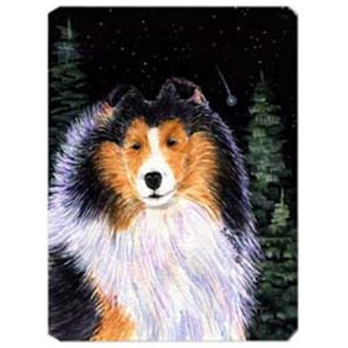 Carolines Treasures SS8491MP Starry Night Collie Mouse Pad