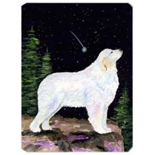 Carolines Treasures SS8471MP Starry Night Great Pyrenees Mouse Pad