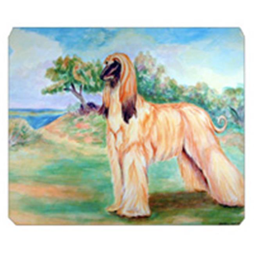 Carolines Treasures 7138MP 8 x 9.5 in. Afghan Hound Mouse Pad Hot Pad Or Trivet