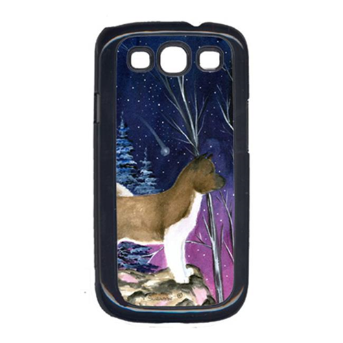 Carolines Treasures SS8352GALAXYSIII Starry Night Akita Cell Phone Cover Galaxy S111