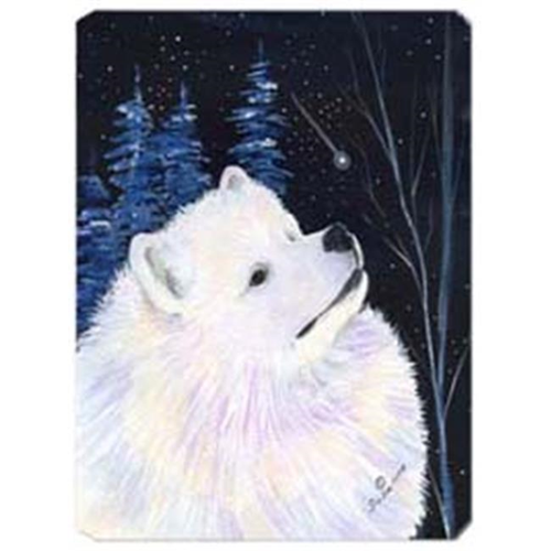 Carolines Treasures SS8376MP Starry Night Samoyed Mouse Pad