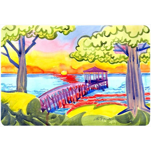 Carolines Treasures 6060MP Dock At The Pier Mouse Pad Hot Pad Or Trivet