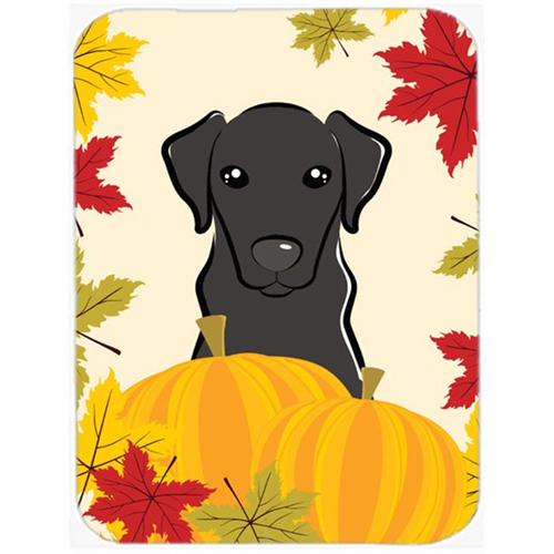 Carolines Treasures BB2041MP Black Labrador Thanksgiving Mouse Pad Hot Pad or Trivet