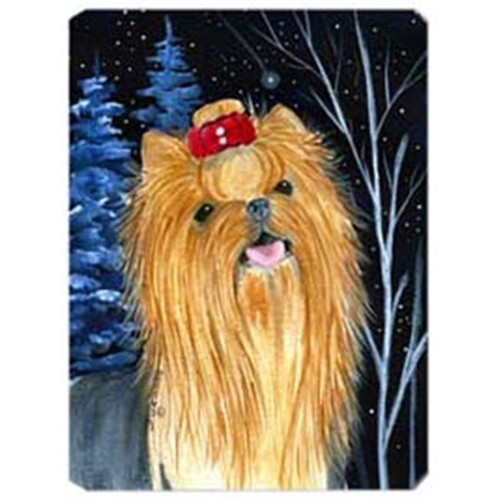 Carolines Treasures SS8413MP Starry Night Yorkie Mouse Pad