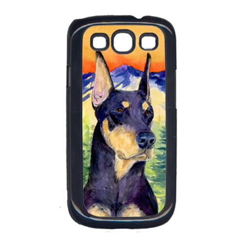 Carolines Treasures SS8658GALAXYSIII Doberman Galaxy S111 Cell Phone Cover