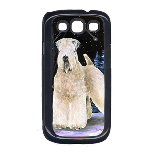 Carolines Treasures SS8364GALAXYSIII Starry Night Wheaten Terrier Soft Coated Galaxy S111 Cell Phone Cover