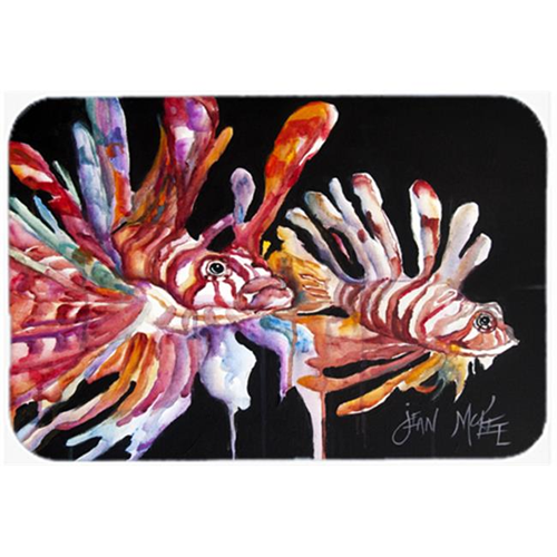 Carolines Treasures JMK1114MP Lionfish Mouse Pad Hot Pad & Trivet