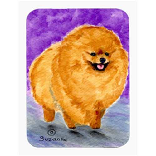 Carolines Treasures SS8681MP Pomeranian Mouse Pad & Hot Pad Or Trivet