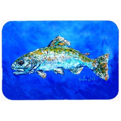 Carolines Treasures MW1124MP Fish Headed Downstream Mouse Pad Hot Pad or Trivet