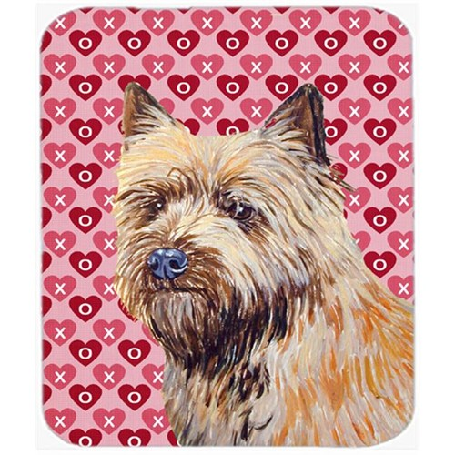 Carolines Treasures LH9140MP Cairn Terrier Hearts Love And Valentines Day Mouse Pad Hot Pad or Trivet