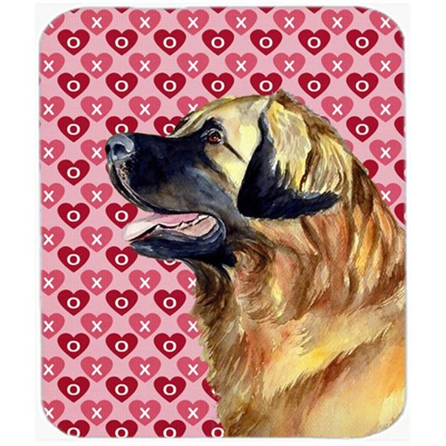 Carolines Treasures LH9168MP Leonberger Hearts Love And Valentines Day Mouse Pad Hot Pad or Trivet