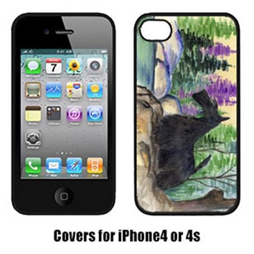 Carolines Treasures SS8101IP4 Scottish Terrier Iphone 4 Cover