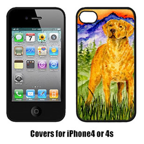 Carolines Treasures SS8449IP4 Chesapeake Bay Retriever Cell Phone cover IPhone 4