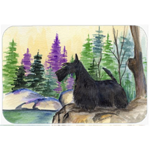 Carolines Treasures SS8101MP 8 x 9.5 in. Scottish Terrier Mouse Pad Hot Pad or Trivet