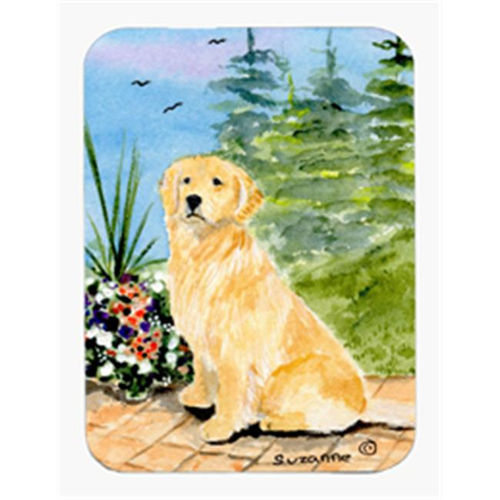 Carolines Treasures SS8758MP Golden Retriever Mouse Pad & Hot Pad Or Trivet
