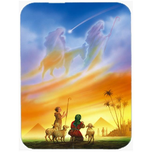 Carolines Treasures APH0939MP Shepherds Being Guided Christmas Mouse Pad Hot Pad or Trivet