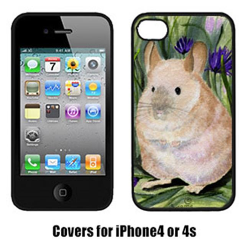 Carolines Treasures SS8206IP4 Chinchilla Cell Phone Cover Iphone 4