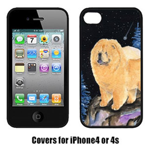 Carolines Treasures SS8454IP4 Starry Night Chow Chow Cell Phone Cover Iphone 4