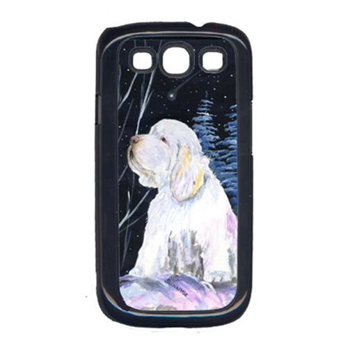 Carolines Treasures SS8346GALAXYSIII Clumber Spaniel Cell Phone Cover For Galaxy S111