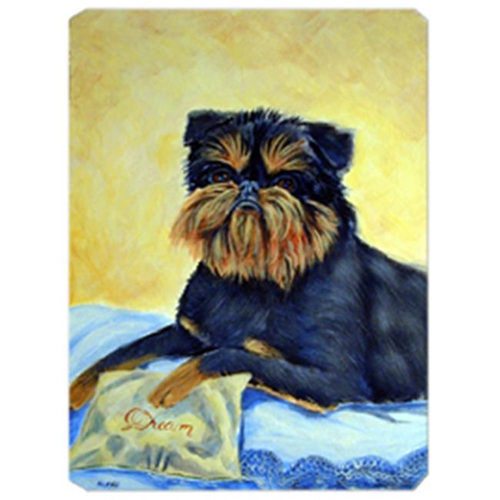 Carolines Treasures 7146MP 8 x 9.5 in. Brussels Griffon Mouse Pad Hot Pad Or Trivet
