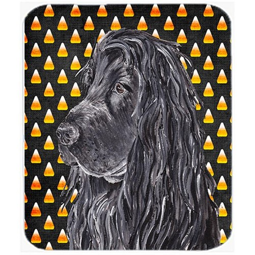 Carolines Treasures SC9527MP 7.75 x 9.25 In. English Cocker Spaniel Halloween Candy Corn Mouse Pad Hot Pad or Trivet
