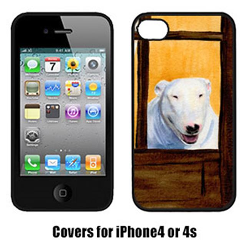 Carolines Treasures SS8542IP4 Bull Terrier Iphone4 Cover