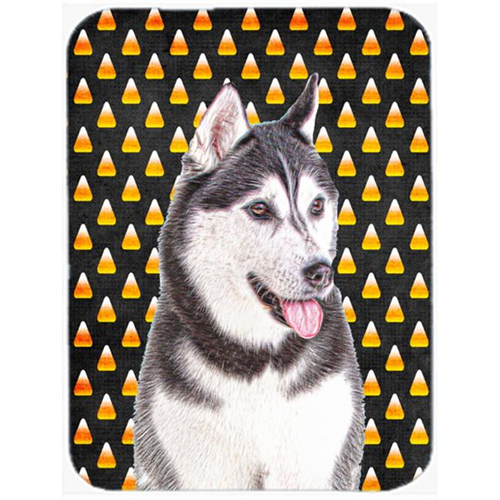 Carolines Treasures KJ1210MP Candy Corn Halloween Alaskan Malamute Mouse Pad Hot Pad or Trivet