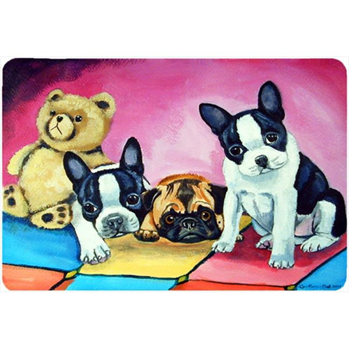 Carolines Treasures 7205MP Multiple Breeds Mouse Pad Hot Pad Or Trivet