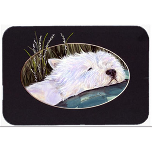 Carolines Treasures SS8052MP Westie Mouse Pad Hot Pad & Trivet