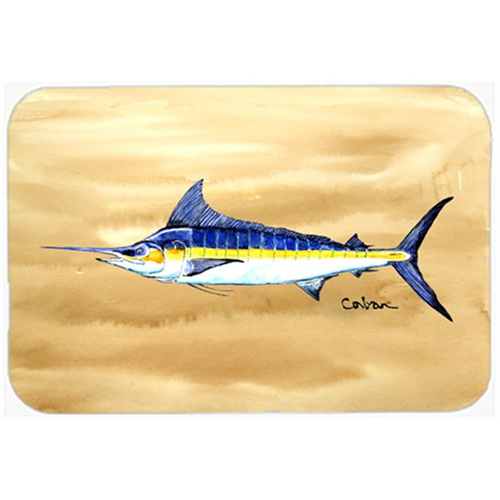 Carolines Treasures 8754MP Swordfish On Sandy Beach Mouse Pad Hot Pad & Trivet