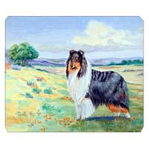 Carolines Treasures 7140MP 8 x 9.5 in. Collie Mouse Pad Hot Pad Or Trivet