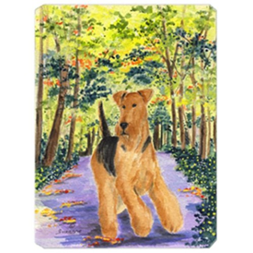 Carolines Treasures SS8208MP Airedale Mouse Pad Hot Pad & Trivet