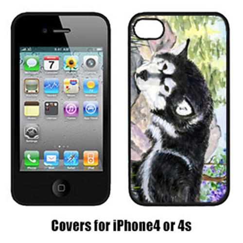 Carolines Treasures SS8062IP4 Alaskan Malamute Iphone 4 Cover