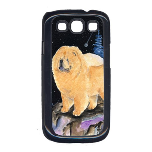 Carolines Treasures SS8454GALAXYSIII Starry Night Chow Chow Cell Phone Cover For Galaxy S111