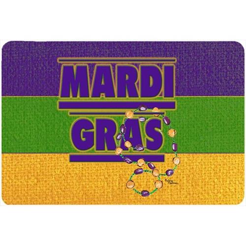 Carolines Treasures 8388MP 9.5 x 8 in. Mardi Gras Mouse Pad Hot Pad Or Trivet