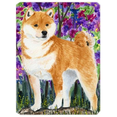 Carolines Treasures SS8061MP 8 x 9.5 in. Shiba Inu Mouse Pad Hot Pad or Trivet