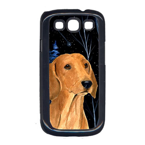 Carolines Treasures SS8379GALAXYSIII Starry Night Dachshund Galaxy S111 Cell Phone Cover
