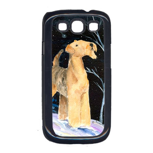 Carolines Treasures SS8361GALAXYSIII Starry Night Airedale Cell Phone Cover Galaxy S111