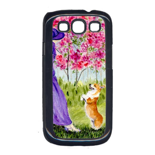 Carolines Treasures SS8616GALAXYSIII Corgi Galaxy S111 Cell Phone Cover