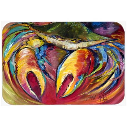 Carolines Treasures JMK1106MP Blue Crab Stars Mouse Pad Hot Pad & Trivet