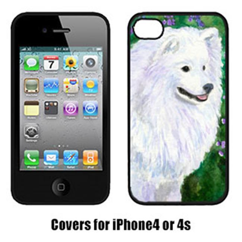 Carolines Treasures SS8965IP4 American Eskimo Cell Phone Cover Iphone4