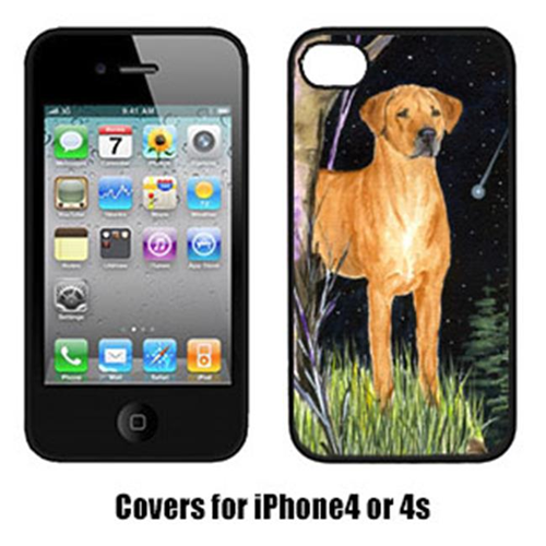 Carolines Treasures SS8479IP4 Starry Night Rhodesian Ridgeback Cell Phone Cover Iphone 4