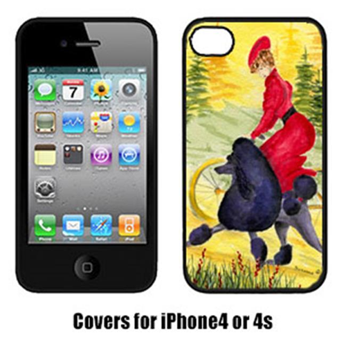 Carolines Treasures SS8635IP4 Poodle Iphone4 Cover