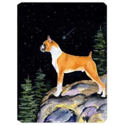 Carolines Treasures SS8496MP Starry Night Boxer Mouse Pad